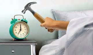 why you should never hit the snooze button daily mail