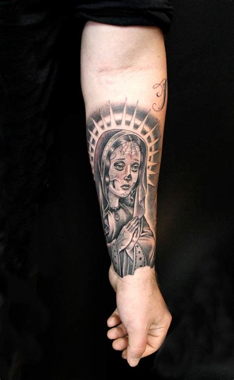 mary tattoo by mister cartoon