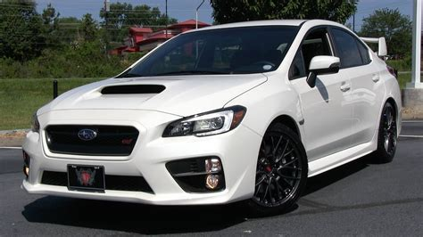 subaru si 2015 subaru wrx sti start up test drive and in depth
