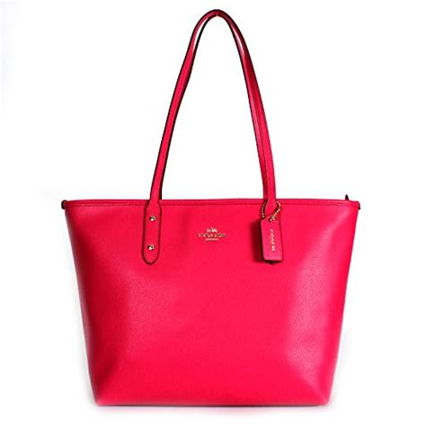 Coach F37785 Crossgrain City Zip Tote Saddle Limited coach crossgrain leather city zip tote f37785 pink ruby leather handbags
