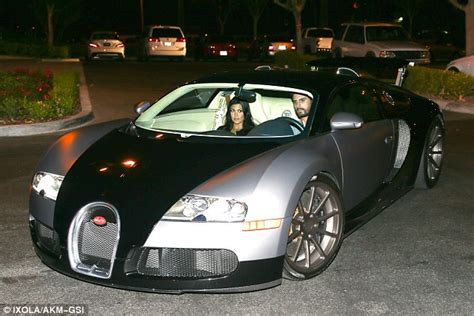 Disick Bugatti by Disick Takes Kourtney For A Spin In New
