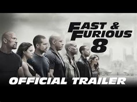 fast and furious on youtube fast and furious 8 teaser trailer 2016 youtube