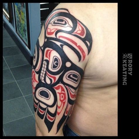 pacific northwest tattoo designs my haida style thunderbird crest by rory