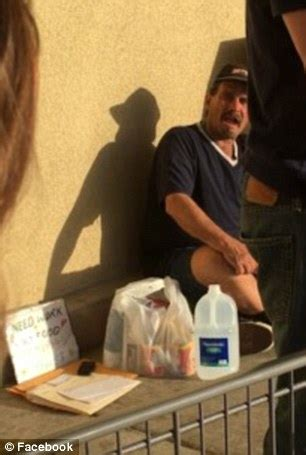 homeless sacramento lands a by handing out his resume for 2 years daily mail