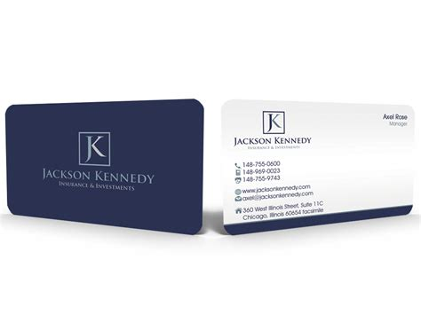 professional business card template for insurance broker with photo insurance business cards ideas choice image card design
