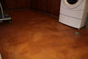 flood proof your basement floor with decorative concrete
