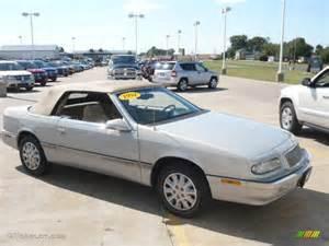 1994 Chrysler Lebaron Convertible 1994 Bright Platinum Metallic Chrysler Lebaron Gtc