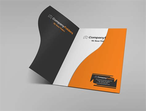 17 Free Presentation Folder Mockup Psd Templates Pocket Folder Design Template