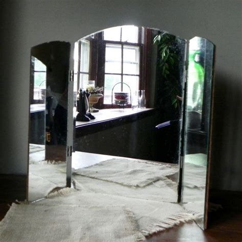 sided bathroom mirror deco tri fold mirror vanity mirror wood back 3 sided mirror dressing table bedroom