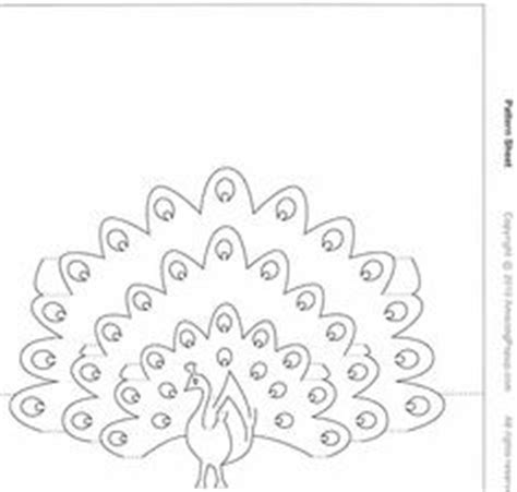 peacock pop up card template 1fd166e38e304fe771f2ffe05255cec0 jpg image jpeg 540