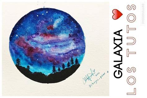 imagenes de galaxia wander a lapiz como dibujar una galaxia how to draw a galaxy lostutos