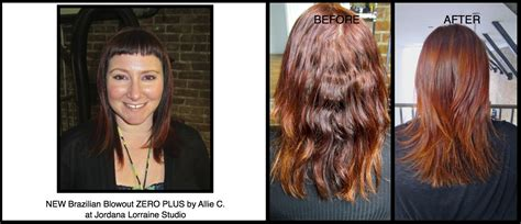blowout results on curly hair new brazilian blowout zero plus frizz free formaldehyde