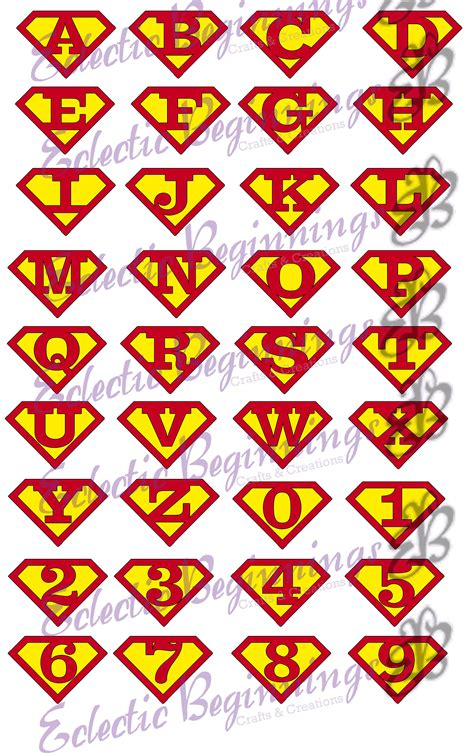 superman alphabet template superman font alphabet www pixshark images