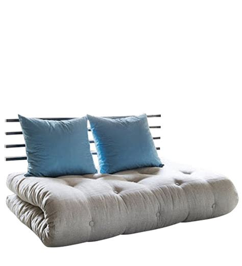Blue Futon Sofa Bed by Shinchan Easy Futon In Blue Colour By Furny By