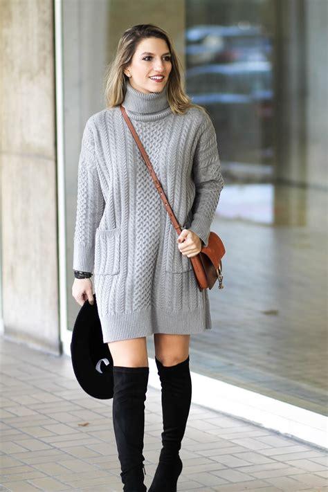 Sweater Dressed grey sweater dress cass dimicco