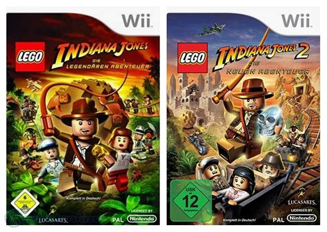 tutorial lego indiana jones 2 wii nintendo wii game lego indiana jones bundle teil 1 2