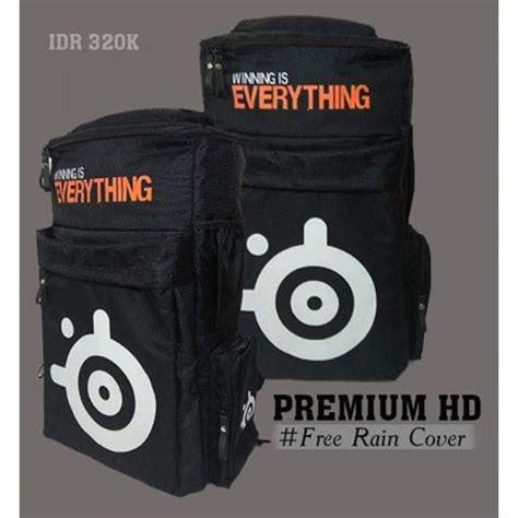 Tas Gaming Bag Backpack Ultimate Steelseries backpack premium hd steelseries wie