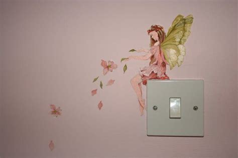 how to paint murals on bedroom walls detail of fairy bedroom mural home pinterest on