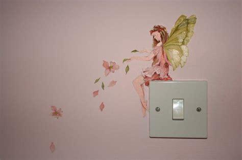 bedroom mural detail of fairy bedroom mural home pinterest on light tinkerbell and murals