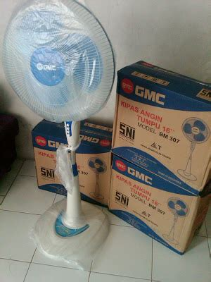 Emergancy Ks 778a Kawachi dunia electric kipas angin stand fan gmc