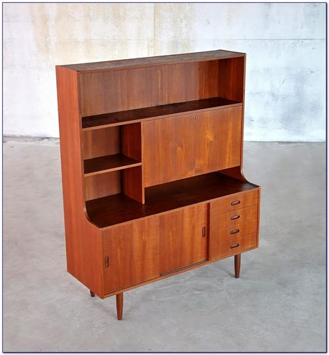 Mid Century Modern Desk With Hutch by Mid Century Modern Desk With Hutch Desk Home Design