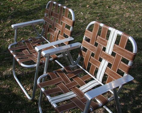 retro aluminum retro folding lawn chair mid century modern beach chairs ebay
