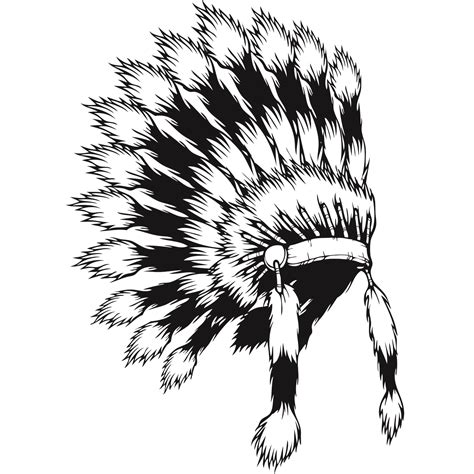 coloring page indian headdress tattoo native american headdress coloring coloring pages