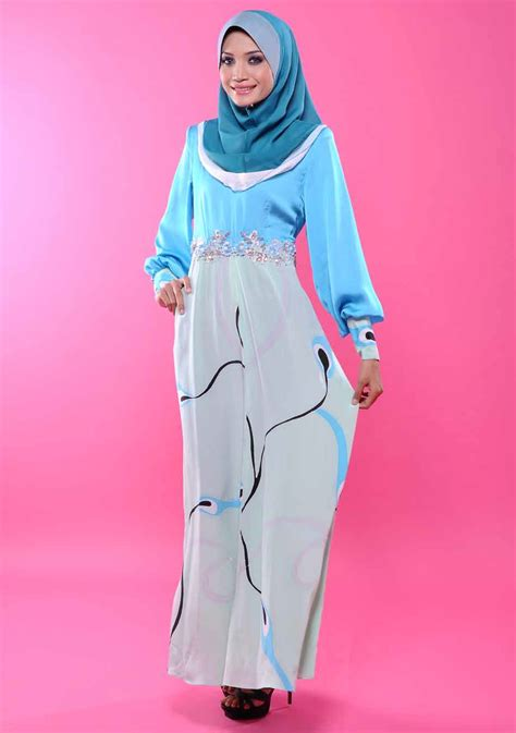Dress Cut Batik Daun Nirwana Cewek Cantik butik elhumaira june 2012