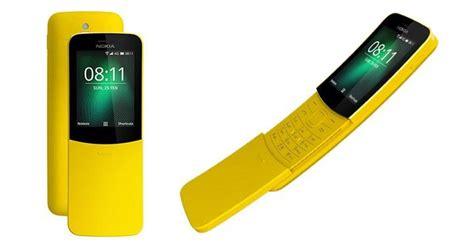 nokia 8110 matrix phone revived as nokia 8110 4g