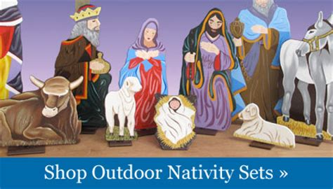 Outdoor nativity sets lighted reloc homes