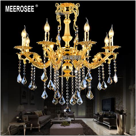 Hanging Chandelier L by Aliexpress Buy Gold Chandelier Lighting