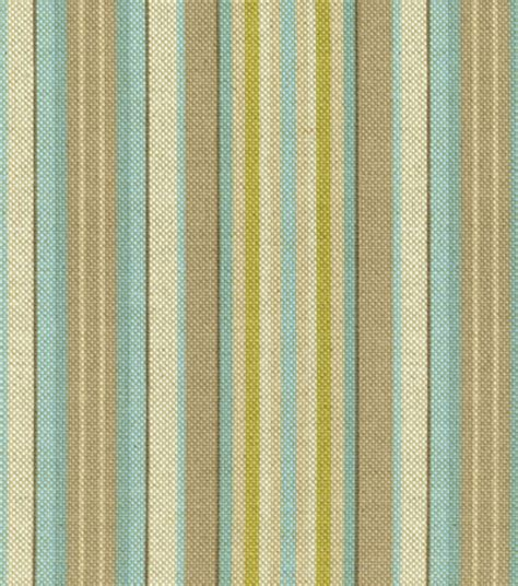 home decor fabric lucky stripe creme de menthe