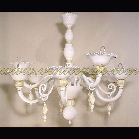 white murano chandelier white pearls murano glass chandelier