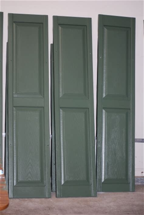 Painting Vinyl Shutters by Do It Yourself And Save Painting Vinyl Shutters A