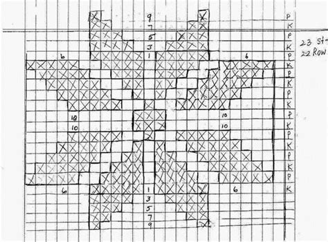 graph paper generator knitting on the net graph paper jpg how to knit a snowflake 171 knitting crochet wonderhowto