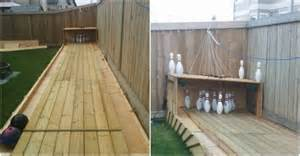 Backyard Bowling Lane How To Build A Bowling Alley In Backyard How To Instructions