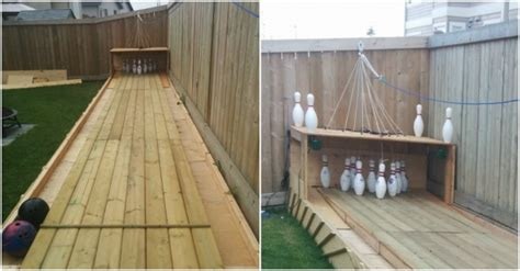 diy backyard bowling alley how to build a bowling alley in backyard how to instructions