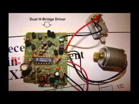 circuits of rc control car and remote youtube