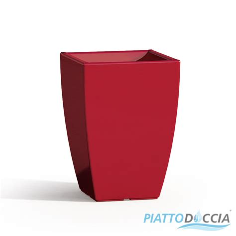 vasi arredamento moderno vaso vasi resina moderno quadrato alto arredo interno
