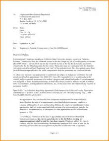 Unemployment Letter Of Appeal by 9 Letter Of Unemployment Monthly Bills Template