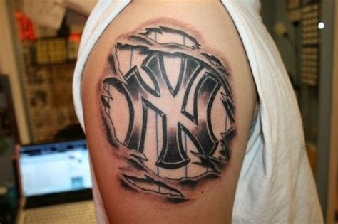 tattoo models nyc 1000 images about new york yankees tattoos on pinterest