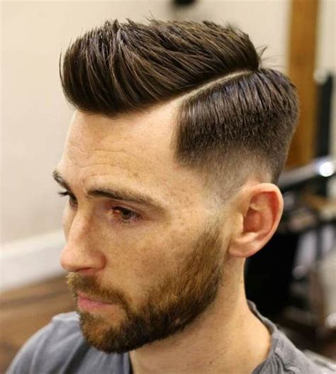 hair side part thin ugly haircuts for men with thick hair almost medium long