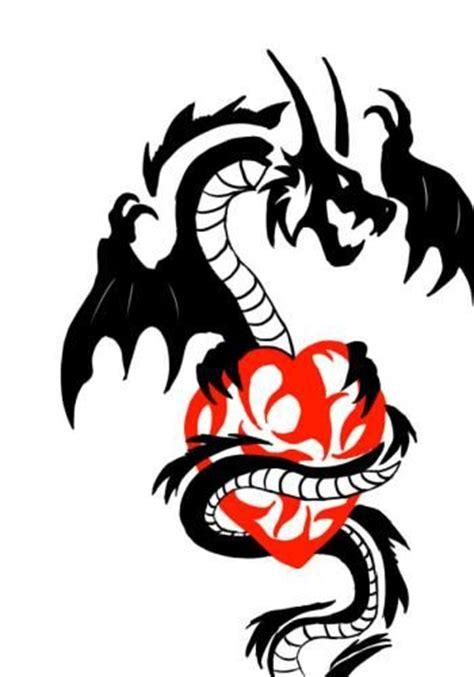 dragon heart tattoo designs tribal tribal wildwerwolf