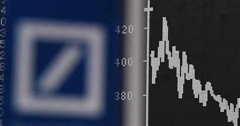 deutsche bank crash quot markt preist deutsche bank crash ein quot die attacke der