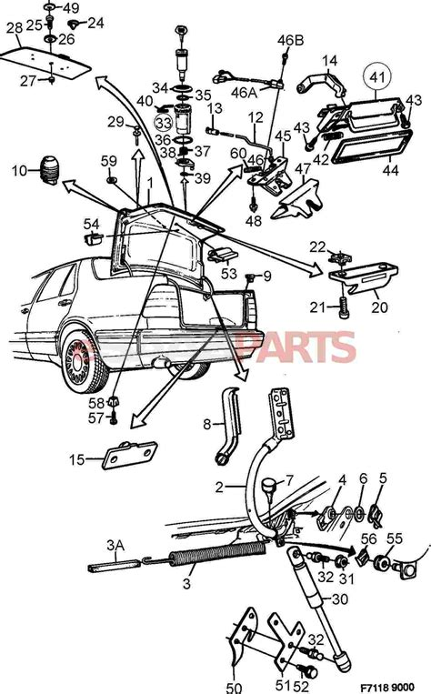 saab parts diagrams 11900429 saab nut genuine saab parts from esaabparts
