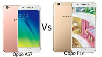 oppo a57 vs oppo f1s tech updates
