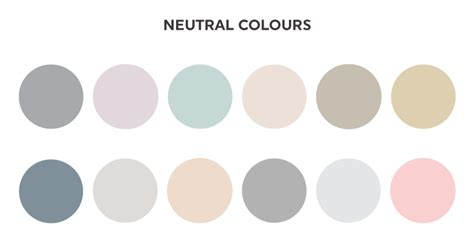 neutral colours pleasing neutral color palette neutral colors color