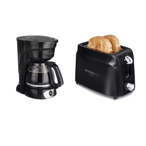 Coffee Maker Toaster Kitchensmith By Bella 2 Slice Toaster Amp 12 Cup Coffee