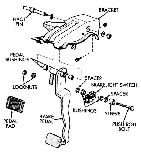 replacing brake light switch toyota tacoma repair guides brake operating system brake light