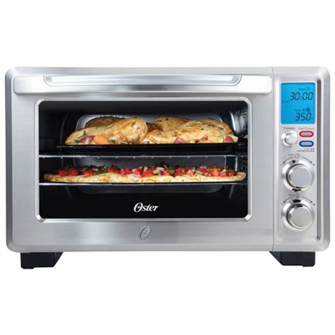 Which Toaster Oven To Buy Oster Convection Toaster Oven 0 6 Cu Ft Brushed